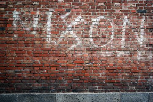 Anti-Nixon Graffiti - Torino, Italy - © Frank H. Jump