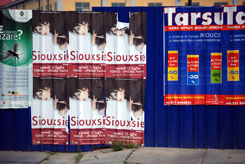Siouxie (former Banshee) - Torino, Italy - © Frank H. Jump