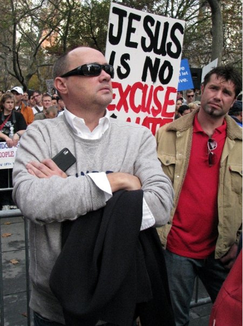 Jesus is No Excuse for Hate - © Jon Nalley
