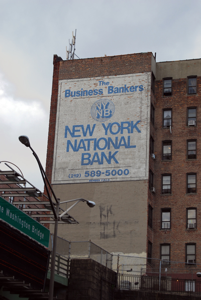 New York National Bank - George Washington Bridge Approach - Upper Manhattan - © Vincenzo Aiosa