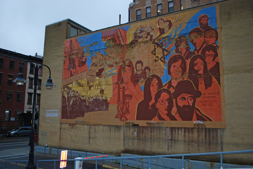 ILGWU - Our Strength is Our Heritage - Our Heritage is Our Life - East Broadway, Lower East Side - © Frank H. Jump