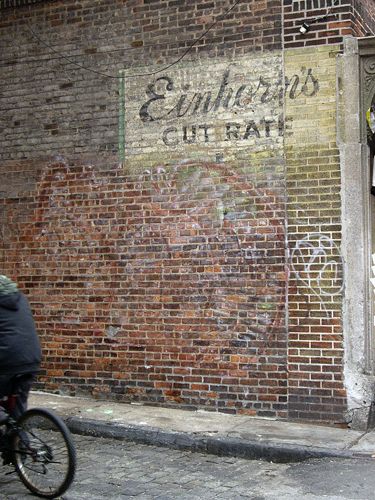 Einhorn's Cut Rate - Fulton Street, NYC