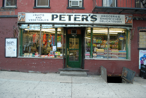 Peters Grocery - Madison Street - LES, NYC