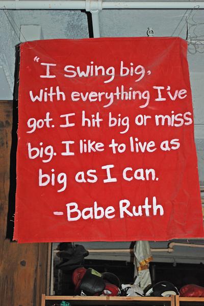 Babe Ruth on Living Big