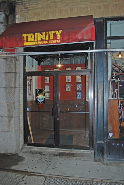 Trinity Boxing Club - Greenwich & Carlisle - © Frank H. Jump