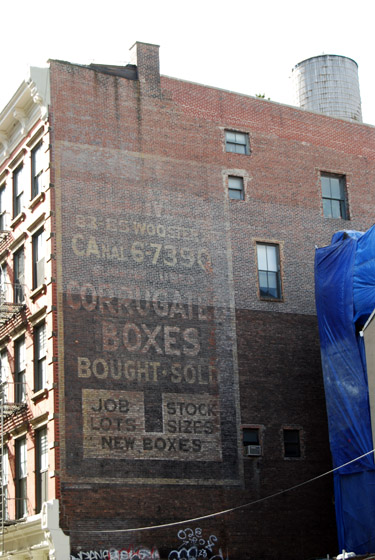 Corrugated Boxes - Wooster Street