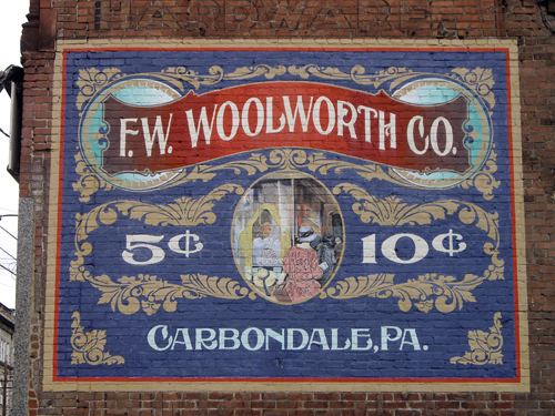 Woolworths - Carbondale, PA - © Frank H. Jump