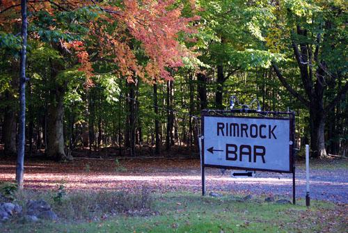 Rimrock Bar - Monroe County Line - © Frank H. Jump