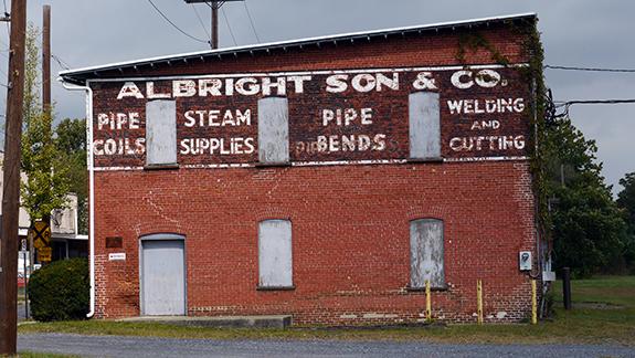 Albright Son & Company – Allentown, PA – Fading Ad Blog