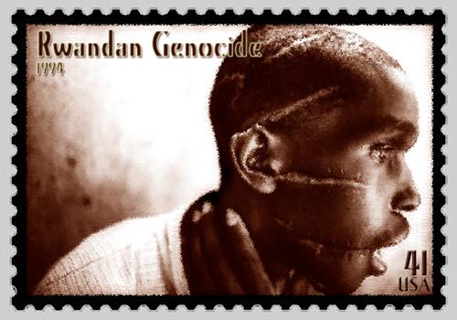 Rwandan Genocide Commemorative Stamp