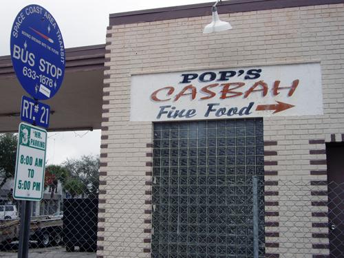 Pop's Casbah, Fine Food - Melbourne, FL