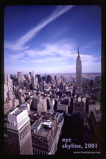 Manhattan Skyline - Frank H. Jump