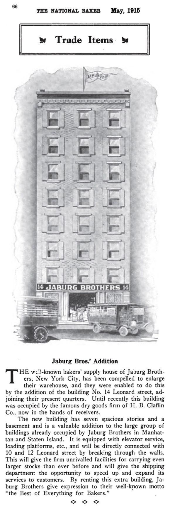 jaburg bros 1912 u2013 bakery supplies u2013 stapleton waterfront si