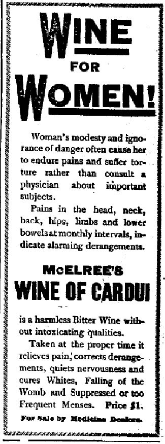 McElree's Wine of Cardui for Women
