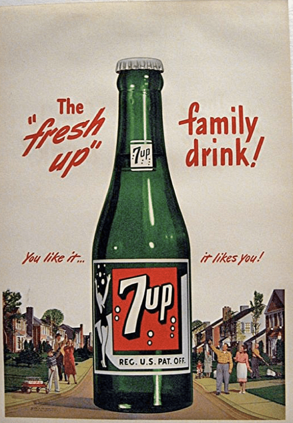 Fresh Up With 7 Up The All Family Drink Richmond Va