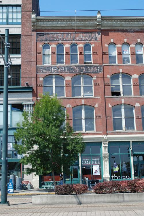 Union Station Historic District Tacoma Wa Fading Ad Blog
