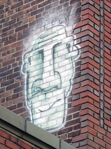 Graffiti on Burwick Furniture Building