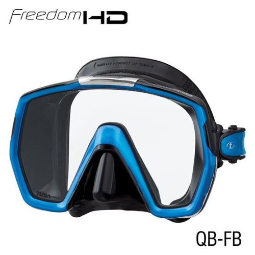 masque freedom HD noir/bleu