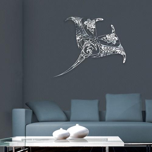"""Décoration murale """"La Raie Manta"""""""