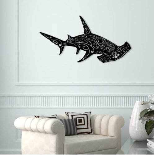 """Décoration murale """"Requin Marteau"""""""