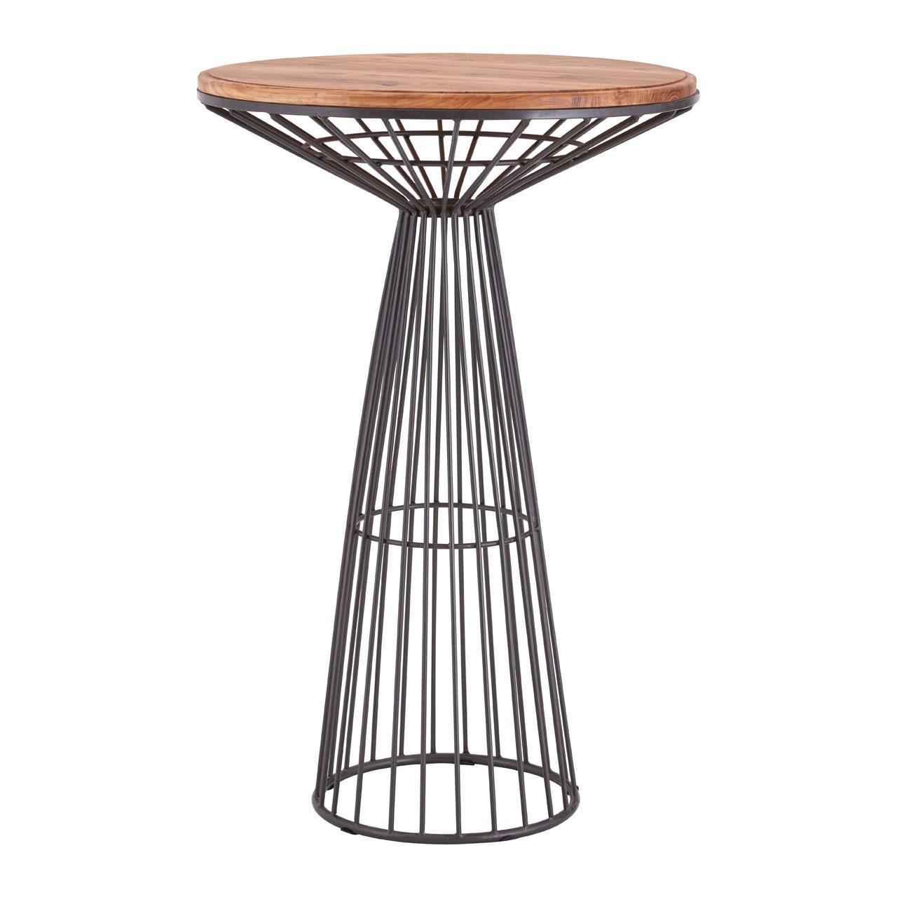 Foundry Circular Bar Table