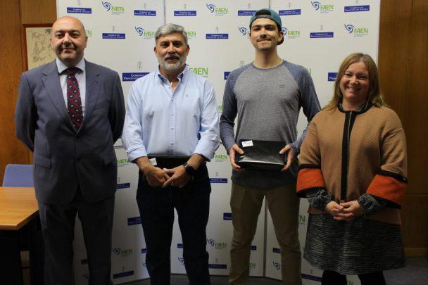 "Entrega premios ""En Bici a Uniovi"""