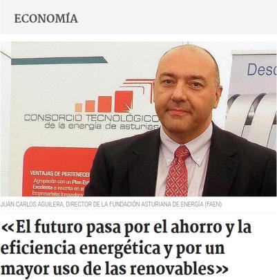 Entrevista Juan Carlos Aguilera, director FAEN