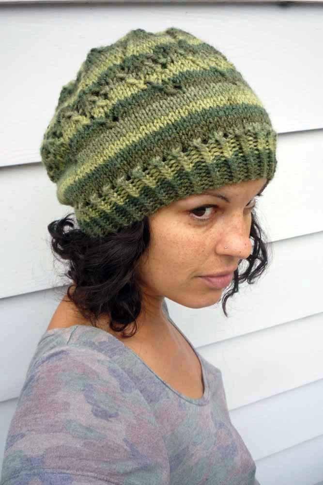 Arrow hat | free knitting pattern | faerwear