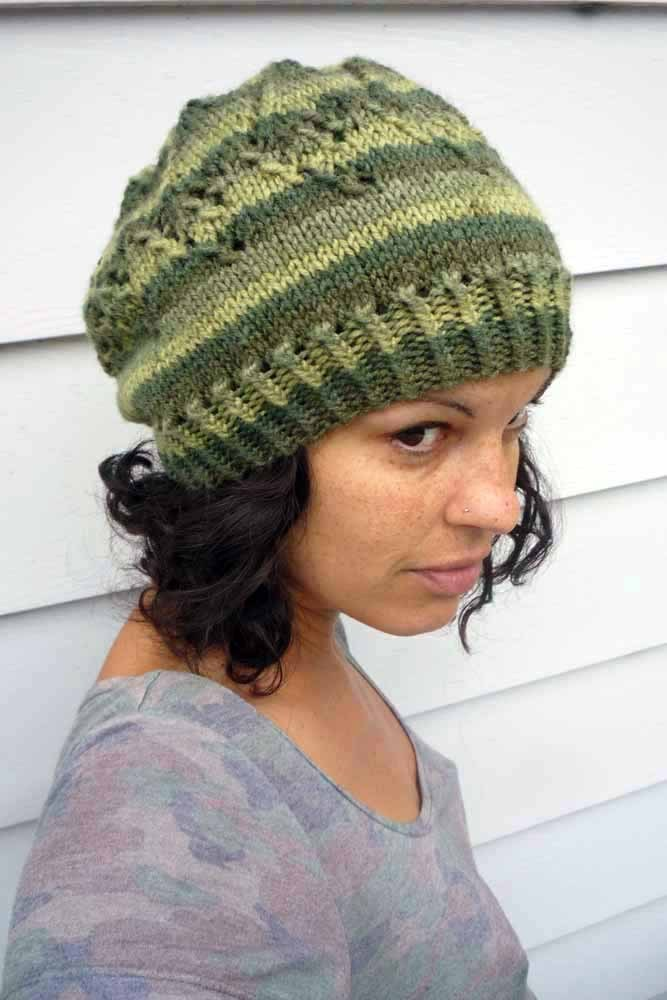 Arrow hat | free knitting pattern | faerwear