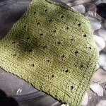 hip to be square dishcloth | free knitting pattern | faerwear