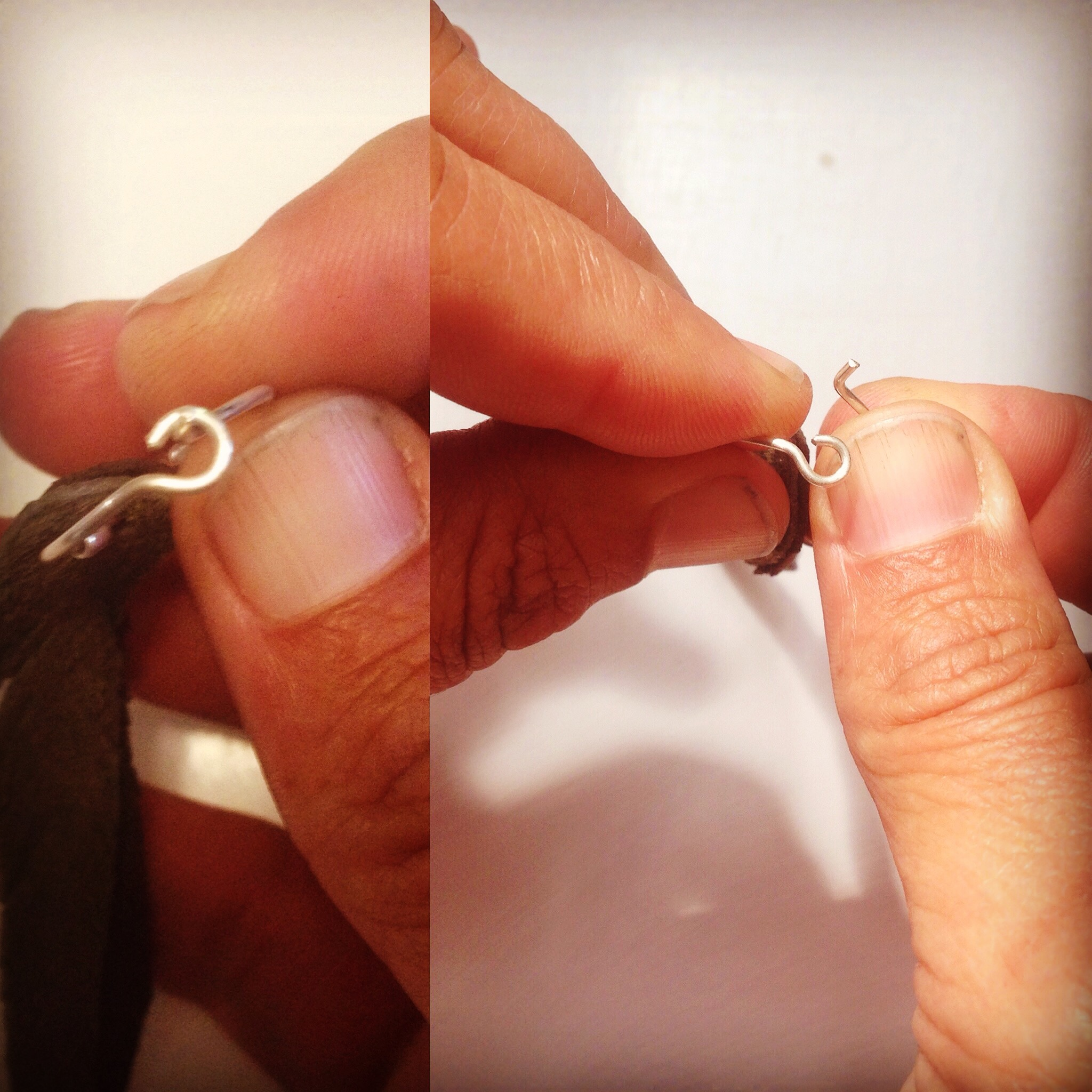 faerwear | hoop tutorial - how to open and close them properly to maintain their shape.