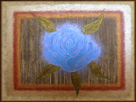 'Blue Rose #1' ©2005 Storm Faerywolf