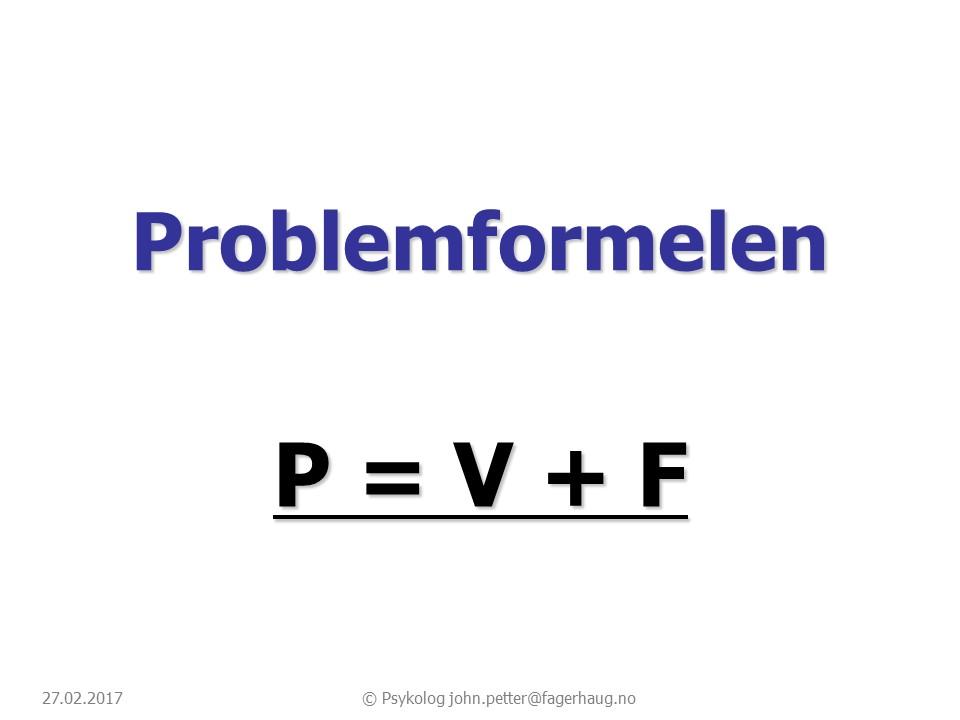 Problemformelen