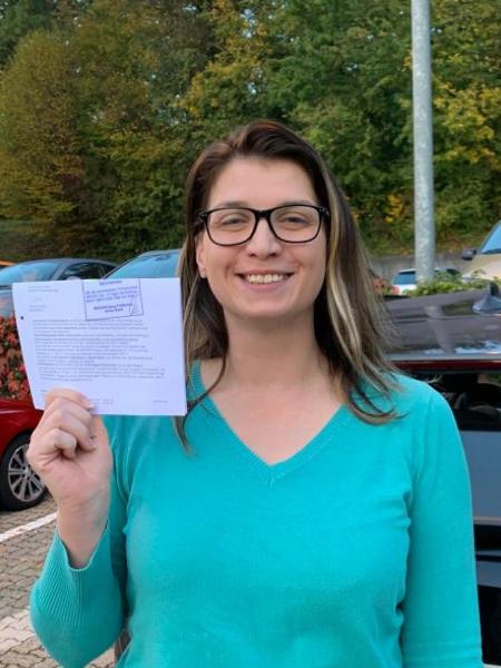 Praktische Führerprüfung - Agnes - 24.10.2019