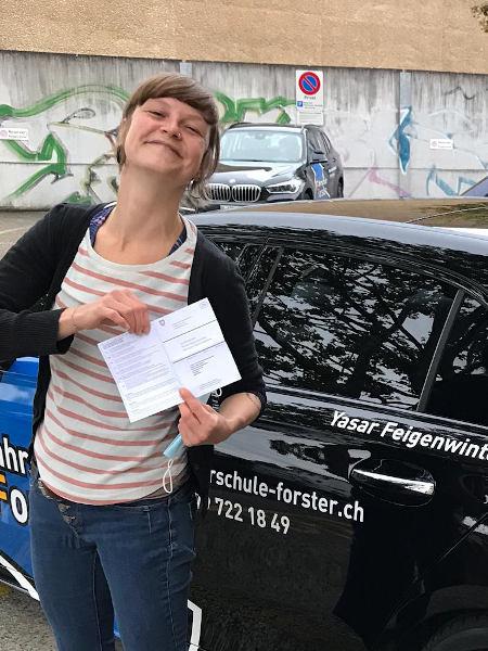 Praktische Führerprüfung - Jasmin - 06.10.2020