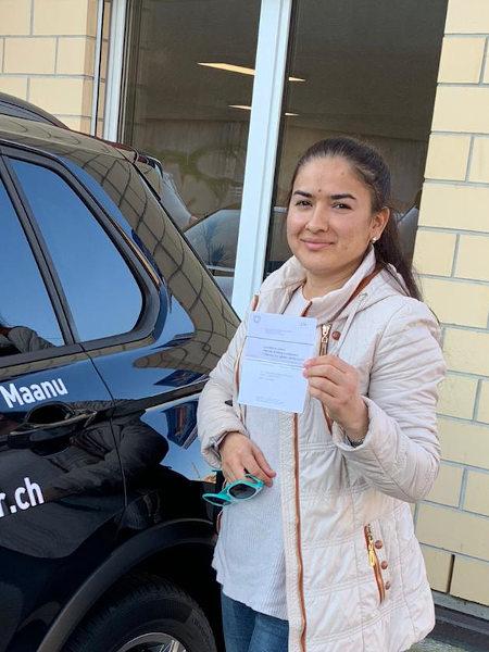 Praktische Führerprüfung - Mahliyo - 24.11.2020