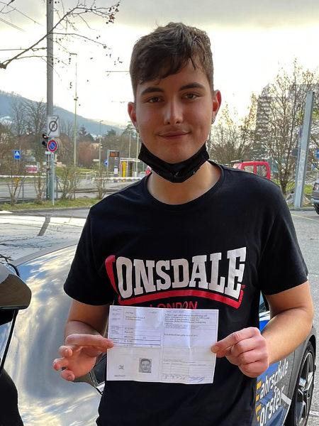 Praktische Führerprüfung - Nico - 08.01.2021
