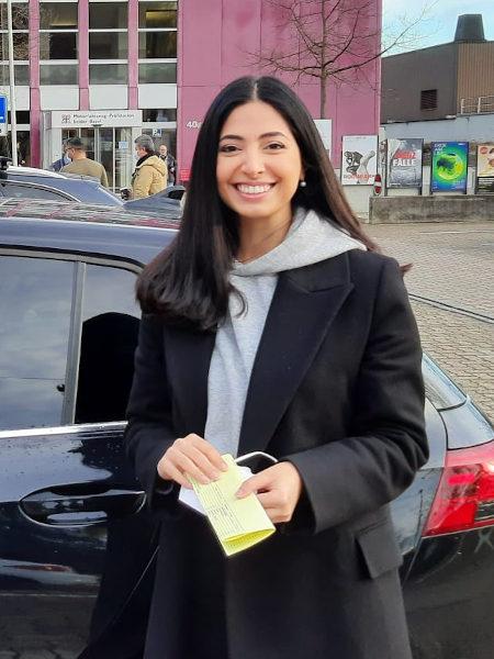 Praktische Führerprüfung - Larissa - 04.02.2021