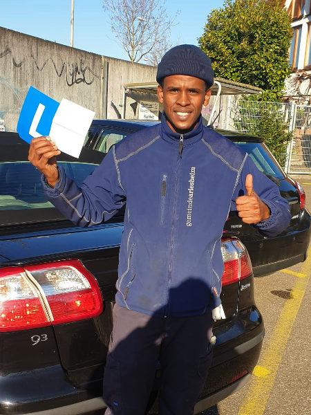 Praktische Führerprüfung - Hassan - 23.03.2021