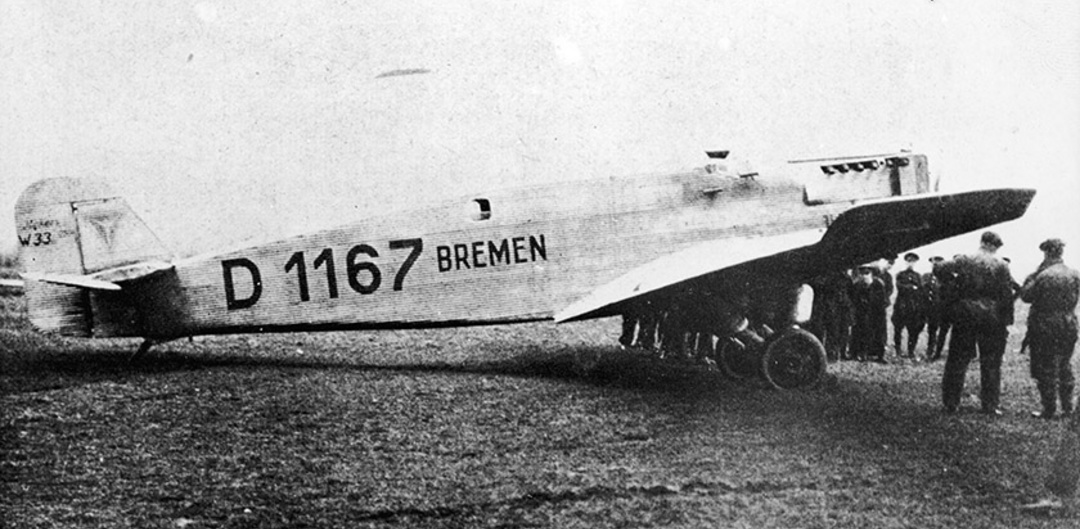 90 years ago today, the first non-stop, fixed-wing, east ...