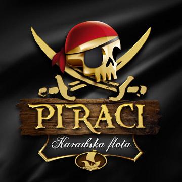 Logotipo de Piraci, de Bruno Faidutti y Bruno Cathala