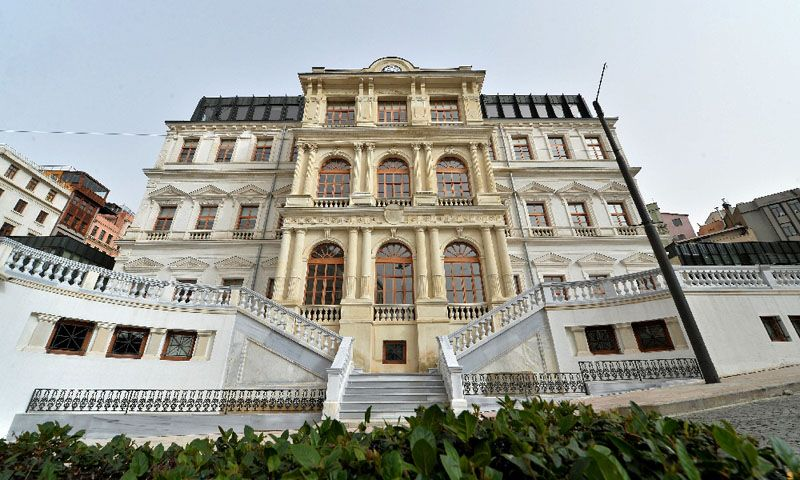 160 years old  Beyoglu Municipality Presidential Building Restoration