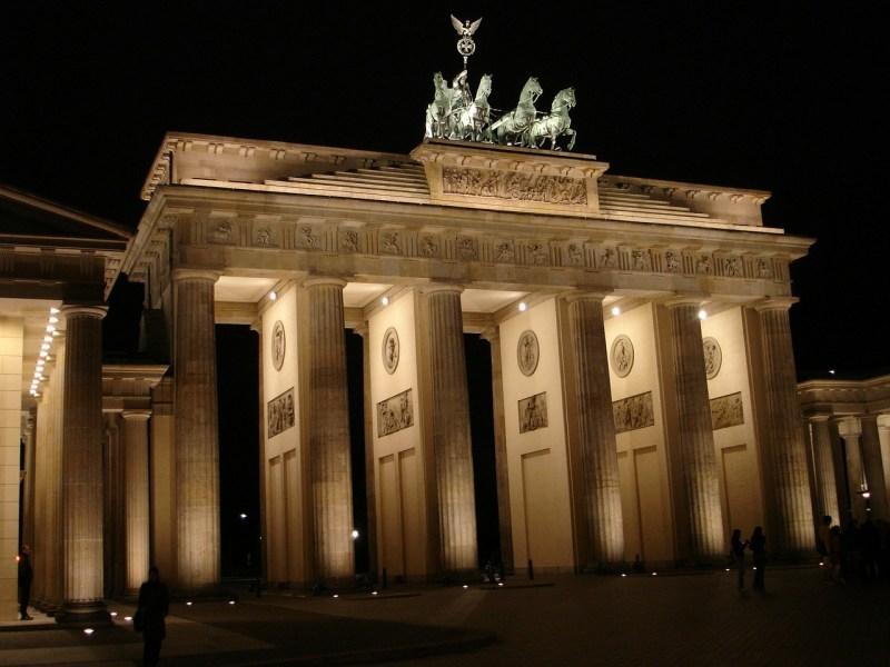 brandenburg gate, berlin, building