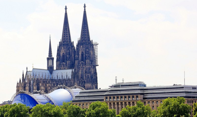 cologne cathedral, musical dome, historic preservation