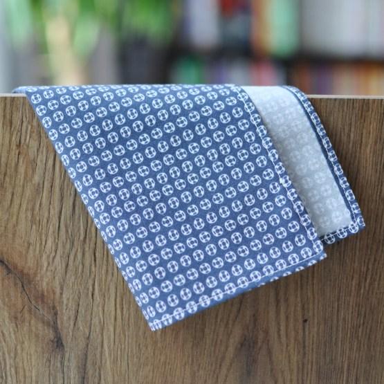 Fair - mouchoir en tissu bleu à bouées