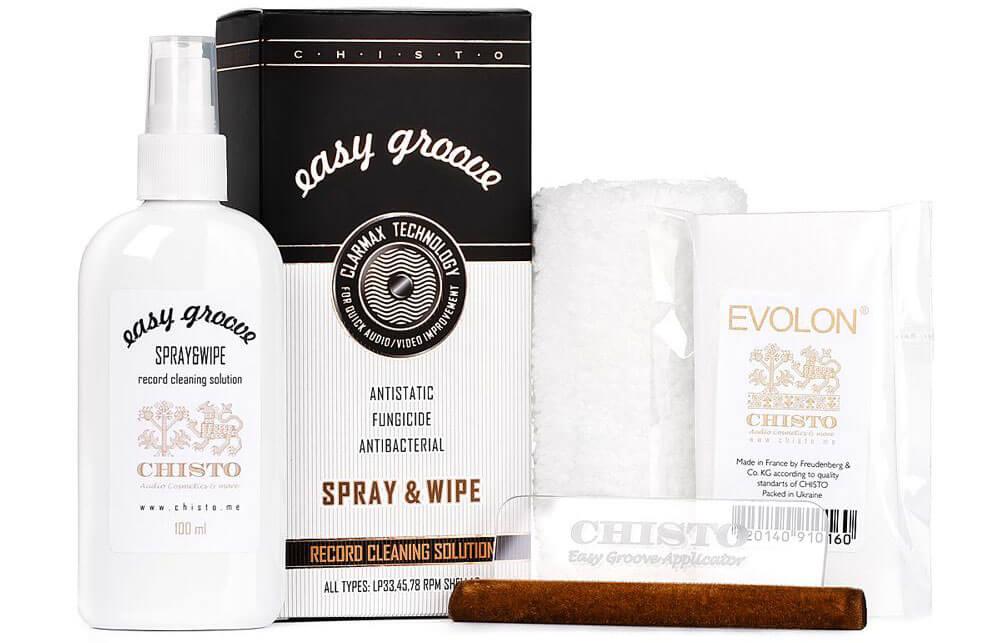 Chisto Easy Groove Wipe & Spray
