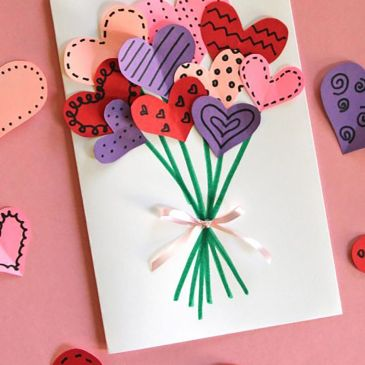 Help Make Valentine Cards For Home-bound Seniors