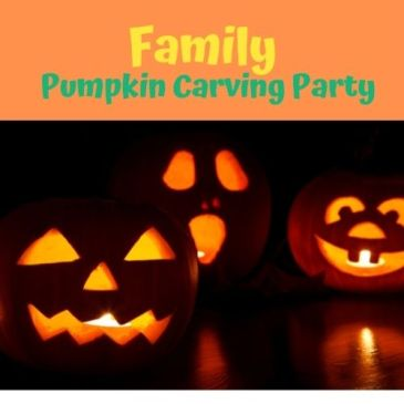 Family Pumpkin Carving Party- 10/27
