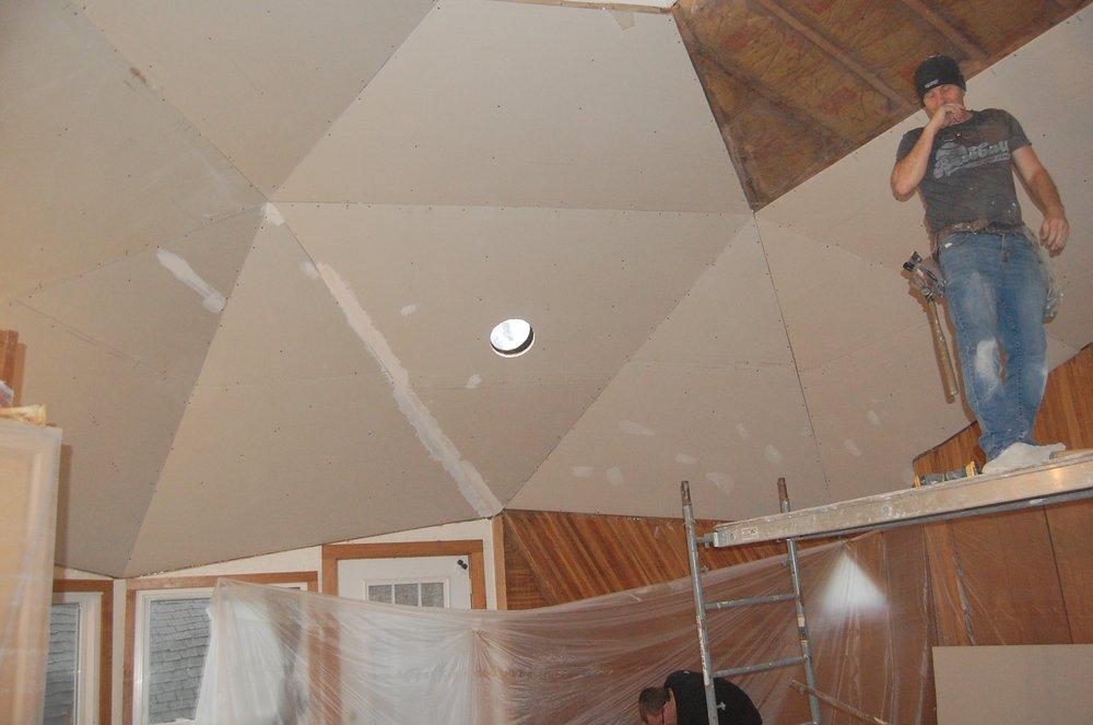 Sheetrock Installation Chapel Hill 2