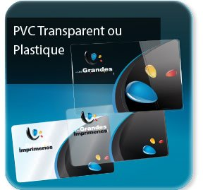 La Plus Belle Carte De Visite PVC Transparente Ou Opaque
